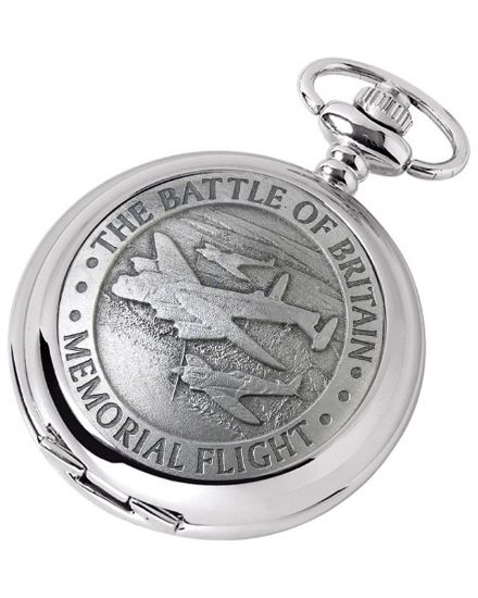 'Memorial Flight' Quartz Pocket Watch with Chain